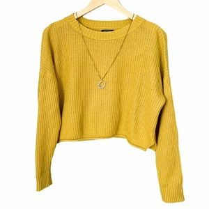 Wild Fable Knit Cropped Sweater
